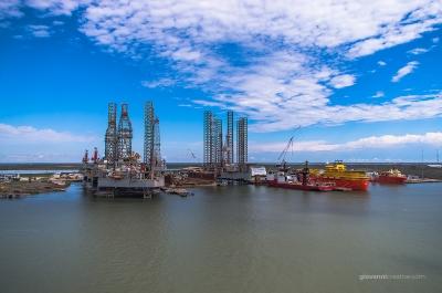 The Port of Galveston