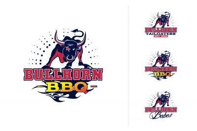 Bullhorn-BBQ-Logo-Design