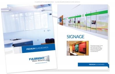 Fulbright Glass Boards Catalog Design