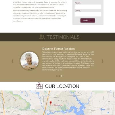 Houston-Extended-Care-Website-Design