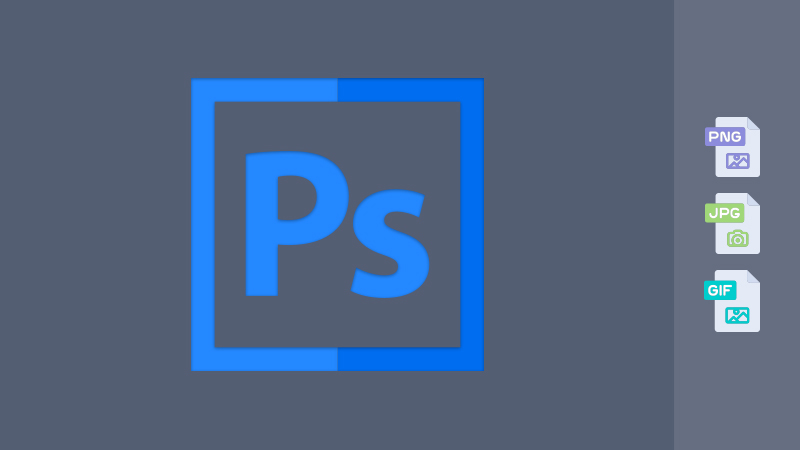 Save for web in Adobe Photoshop